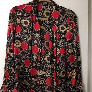 100% silk Ann Taylor blouse